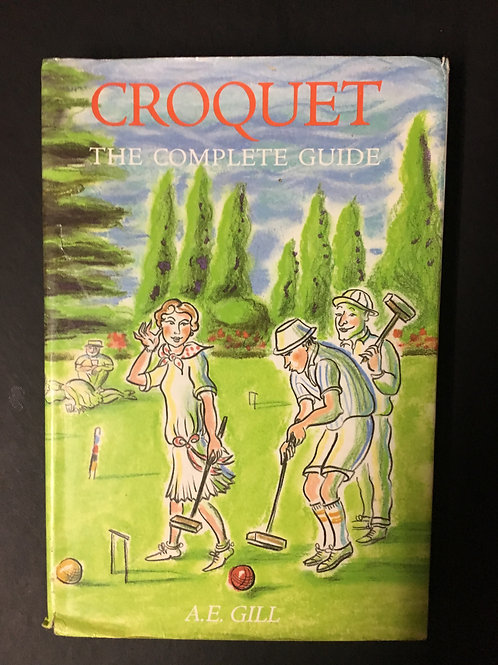 Croquet by A.E. Gill
