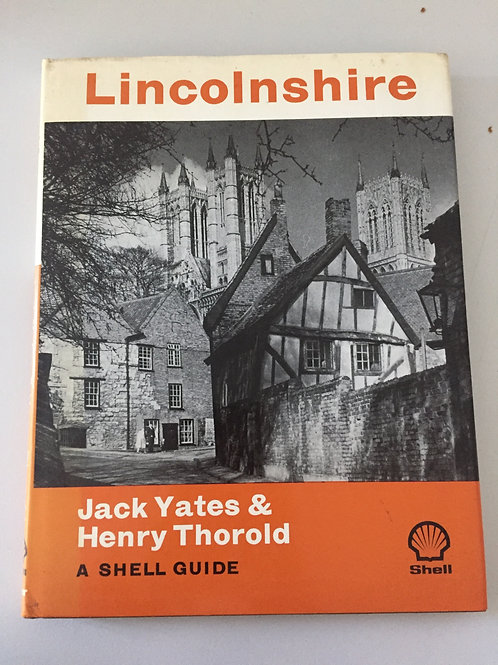 Lincolnshire by Yates & Thorold