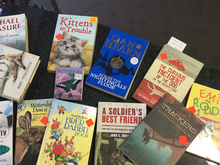 Books to read with our pets