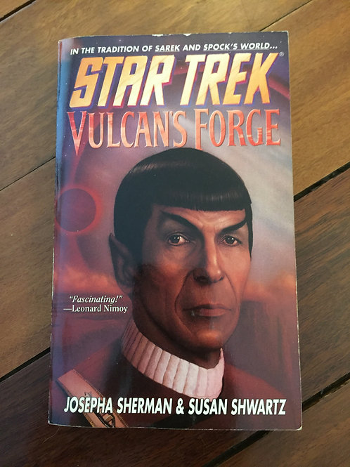 Star Trek Vulcan's Forge by Sherman & Shwartz