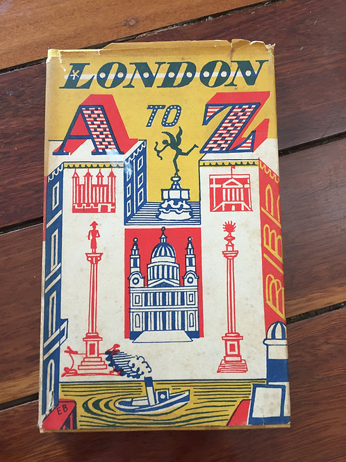 London A to Z by John Metcalf
