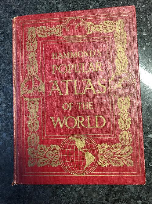 Hammond's Popular Atlas of the World