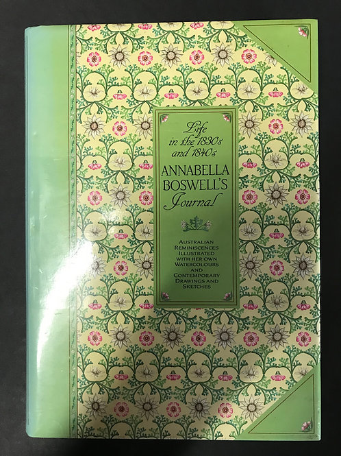 Annabella Boswell's Journal, Life in the 1830s and 1840s