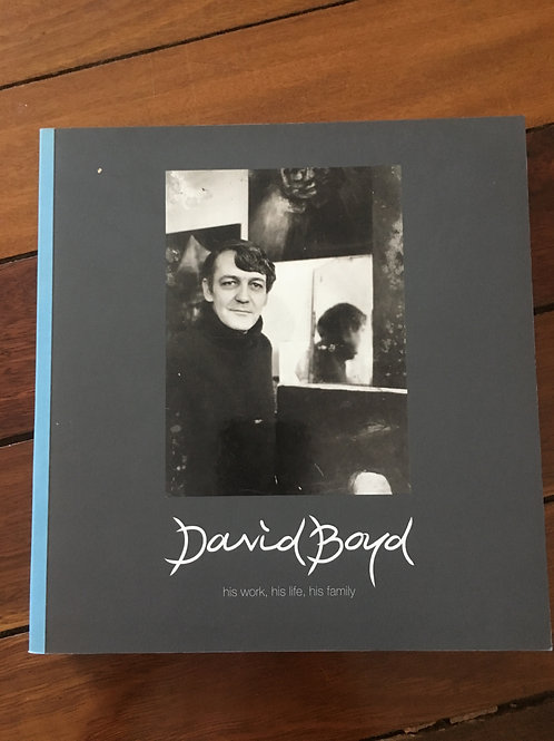 David Boyd, his life, his work, his family