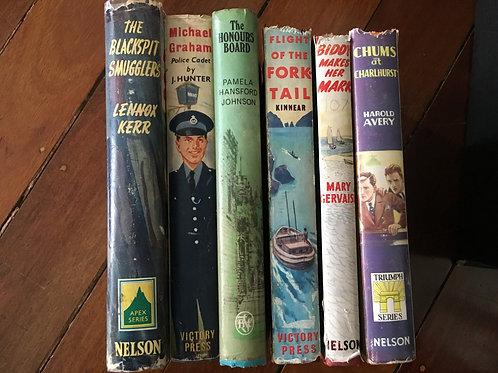 Various Books for Dressing Shelves