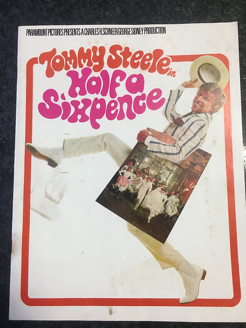 Tommy Steele in Half a Sixpence