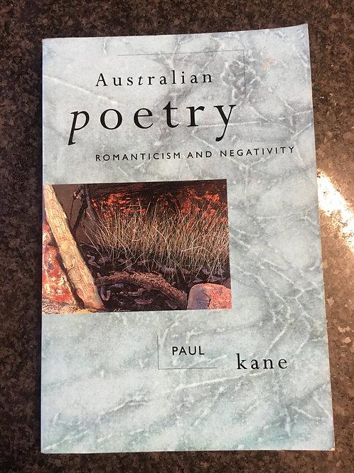 Australian Poetry by Paul Kane