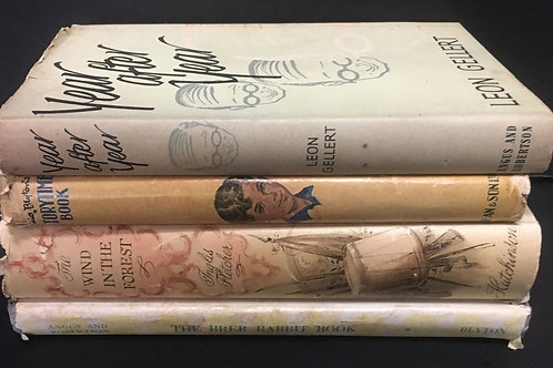 Decorative Books- Brown with Dustjackets