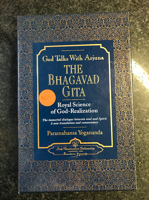God Talk with Arjuna: The Bhagavad Gita by Paramahansa Yoganada