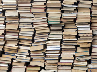 How many books are currently on my TBR pile and why I don't feel guilty…
