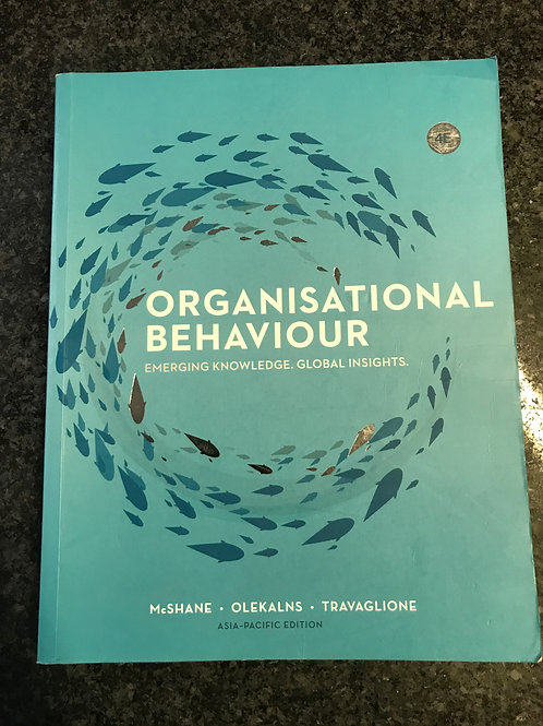 Organisational Behaviour by McShane, Olekalns, Travaglione