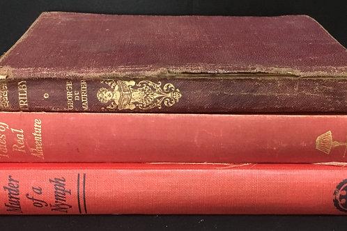 Decorative Books - Red