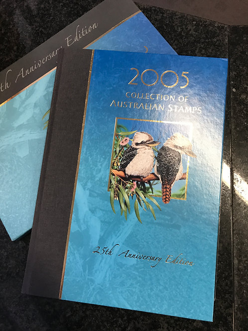 2005 Collection of Australian Stamps, 25th Anniversary Edition
