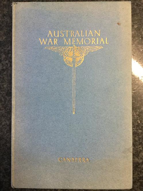 Guide to Australian War Memorial