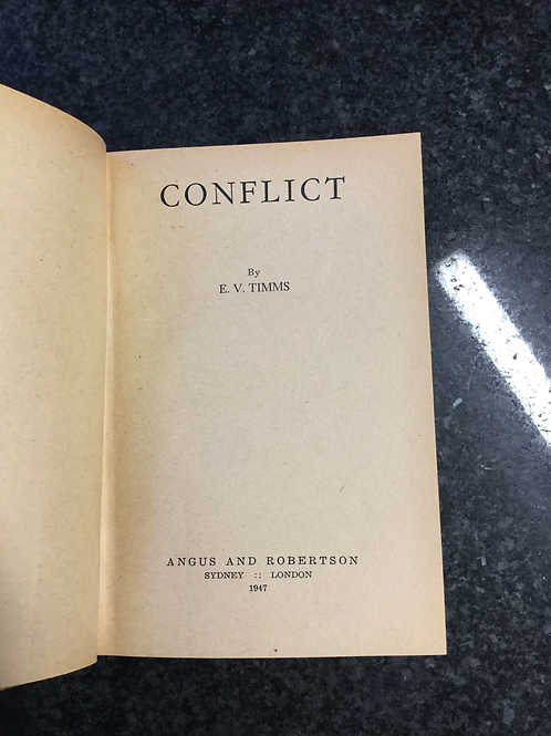 Conflict by E. V. Timms