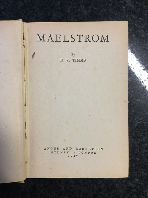 Maelstrom by E. V. Timms