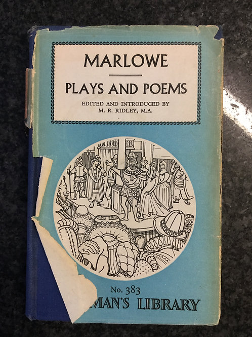 Plays and Poems by Marlowe