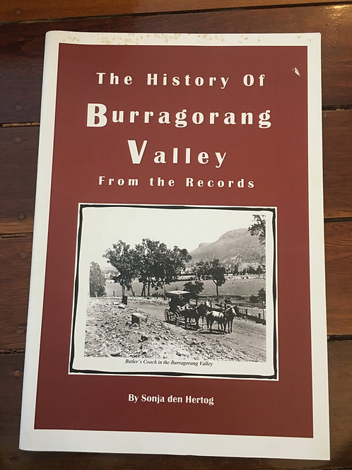 History of Burragorang Valley from the Records by Sonja den Hertog