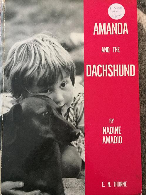 Amanda and the Dachshund by Nadine Amadio