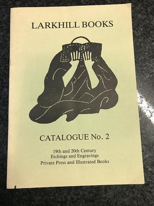 Larkhill Books, Catalogue No. 2