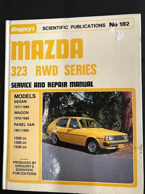 Mazda 323 RWD Series Service and Repair Manual