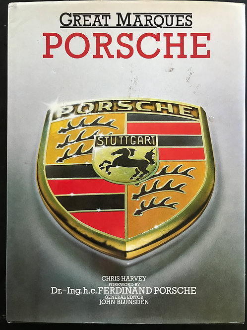 Porsche, Great Marque by Chris Harvey