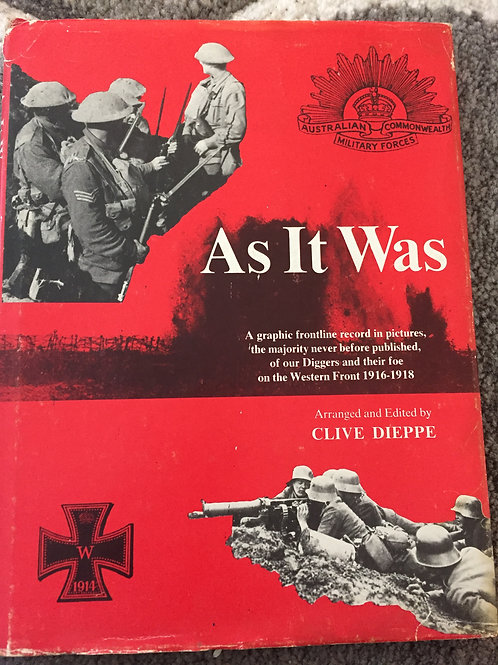As It War by Clive Dieppe