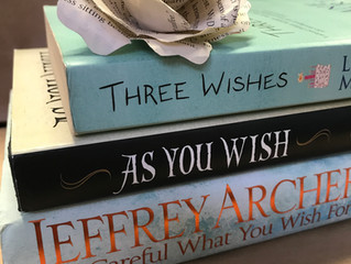 If you had three bookish wishes -  What would they be?