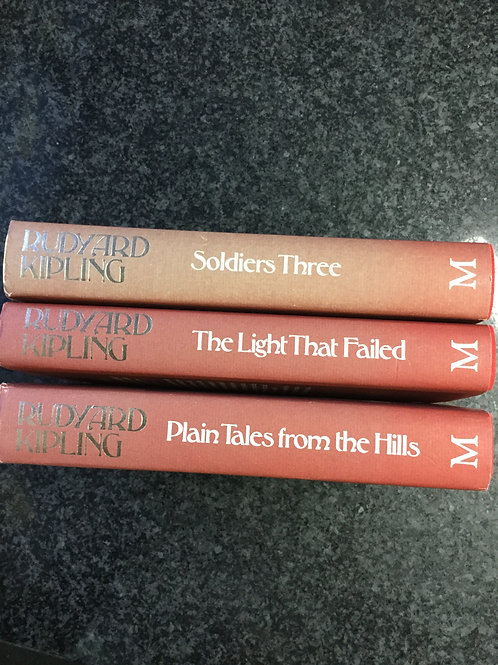 Three Rudyard Kipling Books
