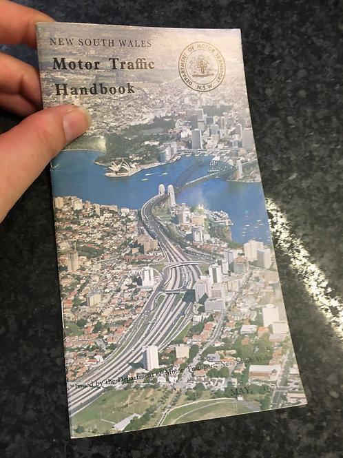 Motor Traffic Handbook of New South Wales