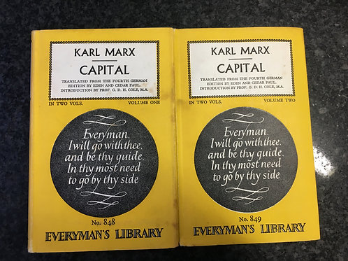 Capital by Karl Marx (in Two Volumes)