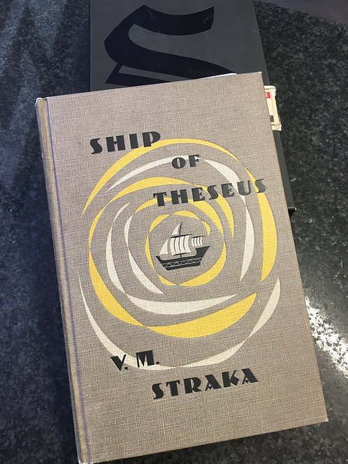 S. by Dorst & Abrams (or Ship of Theseus by V.M. Straka)