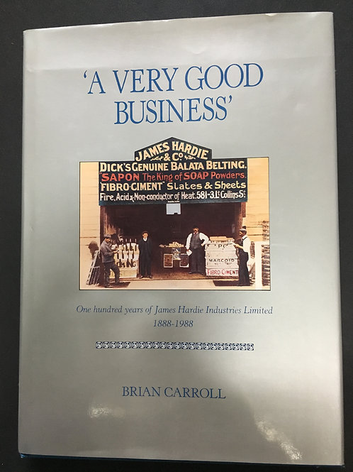A Very Good Business by Brian Carroll
