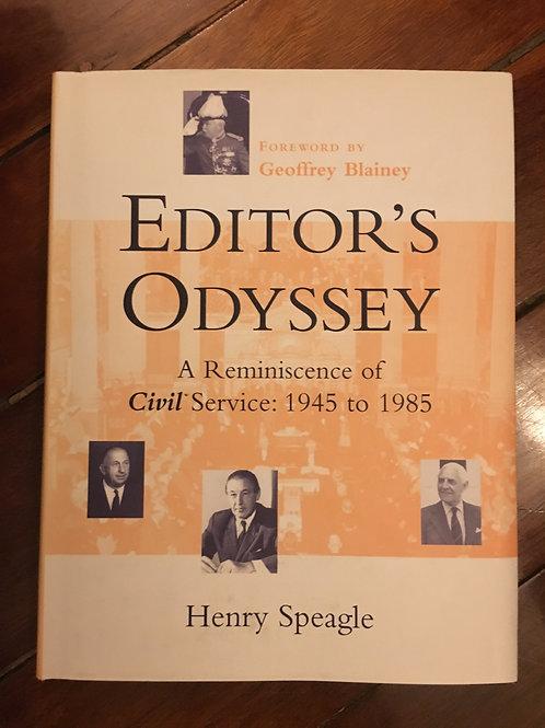 Editor's Odyssey by Henry Speagle
