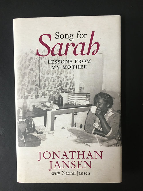 Song for Sarah by Jonathan Lansen