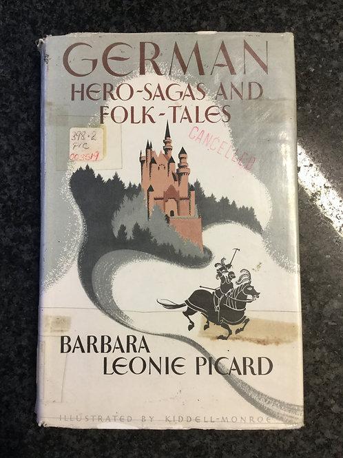 German Hero-Sagas & Folk Tales by Picard