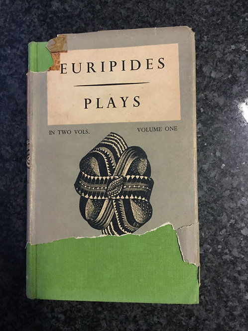 Euripides Plays Vol One
