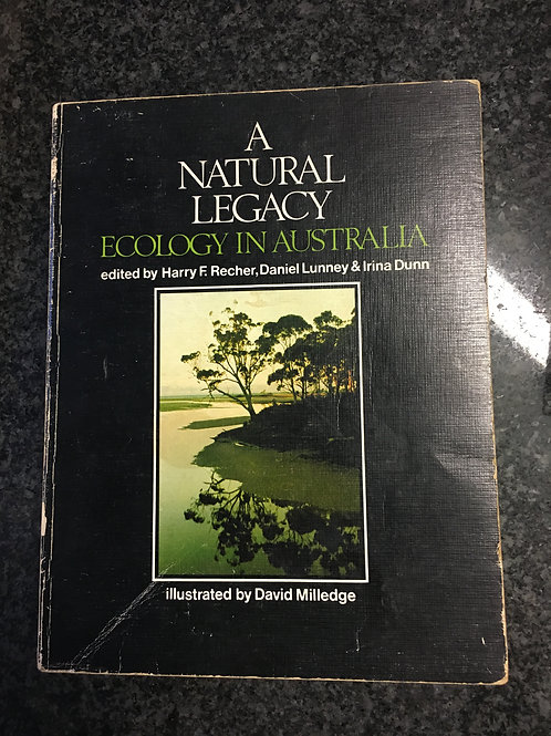 A Natural Legacy ed. Recher, Lunny & Dunn