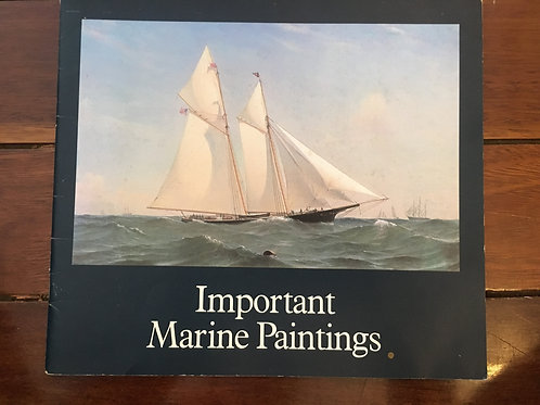 Important Marine Paintings