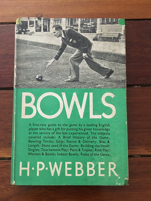 Bowls by H.P. Webber