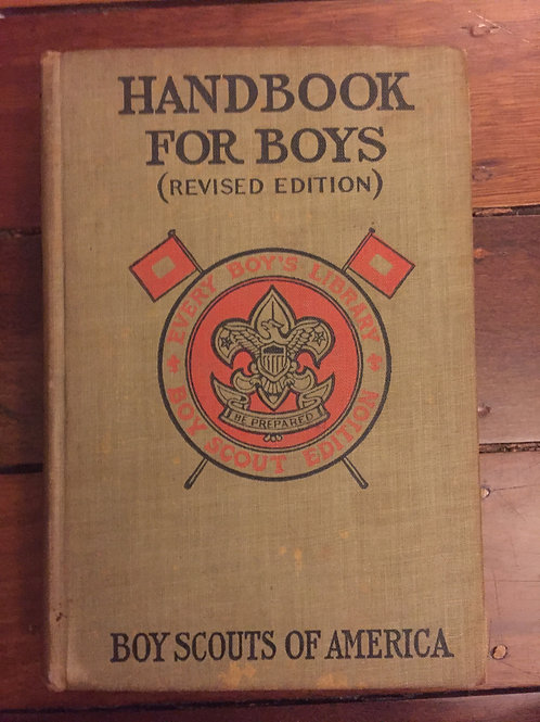 Handbook for Boys, Boy Scouts of America
