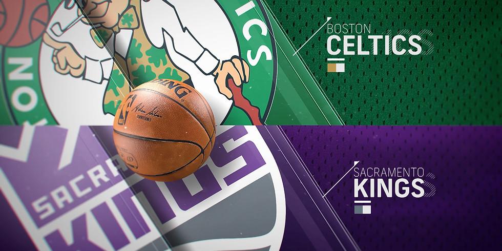 Kings vs Celtics, Golden 1 Center