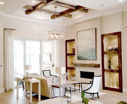 Wire Brushed Wood Beams, Naples, FL