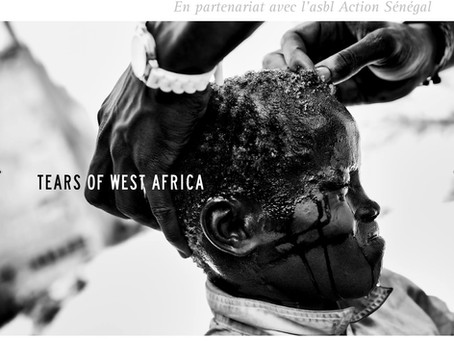 Vernissage de l'exposition « Tears of West Africa »