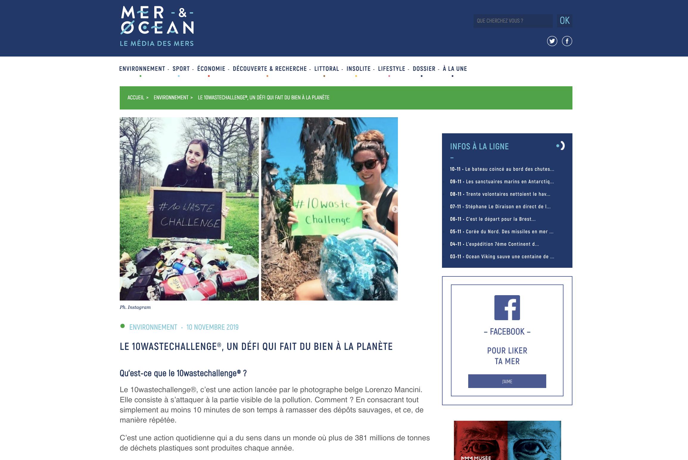 Mer & océan - Le média des mers