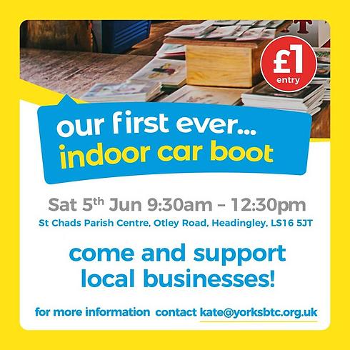 Indoor Car Boot
