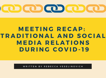 Traditional and Social Media Relations During Covid-19