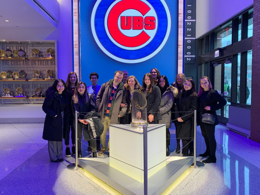 Public Relations On-Deck: DePaul PRSSA Scores a Site Visit to the Chicago Cubs