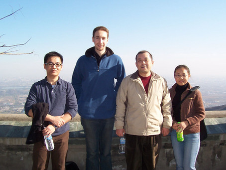 Discovering Chinese I. a physicist living in Beijing-Jonathan Shock