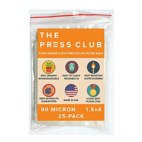 Best Rosin Bags: The Press Club